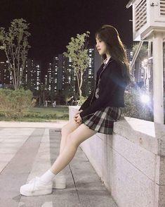 Baca j sist was in short story ♡ ⚠️harshwords ©taenyan Asian Fashion, Girl Fashion, School Uniform Fashion, Girl Outfits, Cute Outfits, Girl Korea, Ulzzang Korean Girl, Girl Couple, Uzzlang Girl