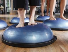 The Best Exercises to Improve Your Balance: BOSU Ball Exercises