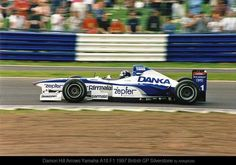 f1 Damon Hill Arrows Yamaha A18 F1 1997 British GP Silverstone