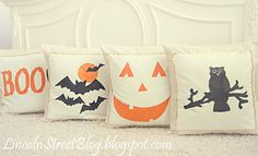 When October tip-toes in, perk up room with these festive Halloween pillow covers!