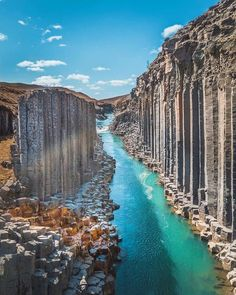Beautiful Places Discover Enormous basalt stacks Stuðlagil Iceland More memes funny videos and pics on Beautiful Places To Travel, Cool Places To Visit, Beautiful Beautiful, Wonderful Places, Belle Image Nature, Nature Photography, Travel Photography, Photography Ideas, Photography Training