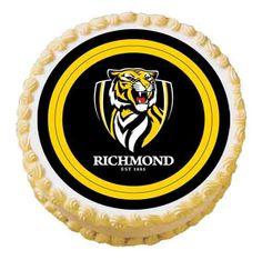 AFL RICHMOND EDIBLE IMAGE
