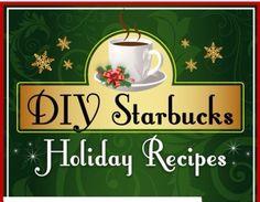 ✨☕️Diy Starbucks Holiday Recipes✨☕️❄️ #Food #Drink #Trusper #Tip