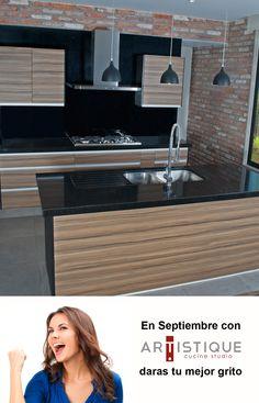 En Septiembre con Cocinas Artistique, darás tu mejor grito...! Nuestras promociones aplican a todos los modelos de cocinas, pregunte por ellas: www.cocinasartistique.com.mx