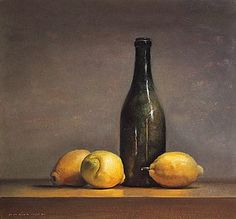 Jos Van Riswick. Still life with Lemons.
