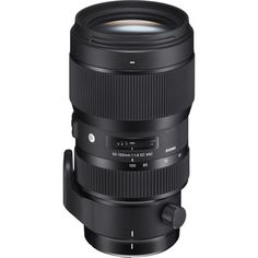 Sigma 50-100mm f/1.8 DC HSM Art Lens- Nikon F Mount/DX Format 75-150mm (35mm Equivalent) Aperture Range: f/1.8 to f/16 One SLD and Three FLD Elements One High-Refractive Index Element Super Multi-Layer Coating Hyper Sonic AF Motor Internal Zoom and Focus; MF Override Rounded 9-Blade Polycarbonate Diaphragm Rotating Tripod Collar Pairing a versatile range of telephoto focal lengths with a fast constant maximum aperture, this 50-100mm f/1.8 DC HSM Art Lens from Sigma is designed for DX