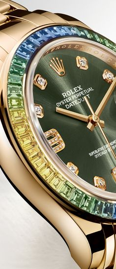 The Rolex Datejust Pearlmaster 39. #RolexOfficial