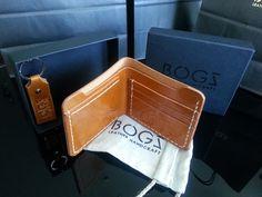 "Leather Wallet""Bogz"" 100 High Quality Italian Leather 100 Handmade | eBay"
