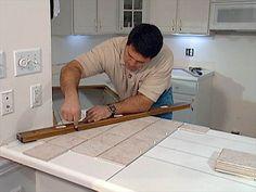 install tile over laminate countertop and backsplash | laminate