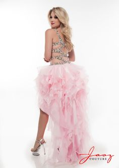 Fashion 2014 Sexy Sweetheart Spaghetti Straps High Low Crystal Rhinestone Ruffles Tiered LongEvening Party Pegeant Prom Dresses