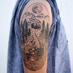 #tattoofriday - tattoos fauna & flora - Pony Reinhardt;