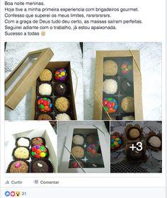 Clique APRENDA , FAÇA E VENDA ! Brigadeiros Gourmet . O doce recorde de vendas no Brasil ! BRIGADEIROS GOURMET PASSO A PASSO! Aprenda, faça você mesmo .ALTAMENTE LUCRATIVOS . VISITE O SITE CLICANDO NA IMAGEM ! #doces #brigadeiros #gourmet