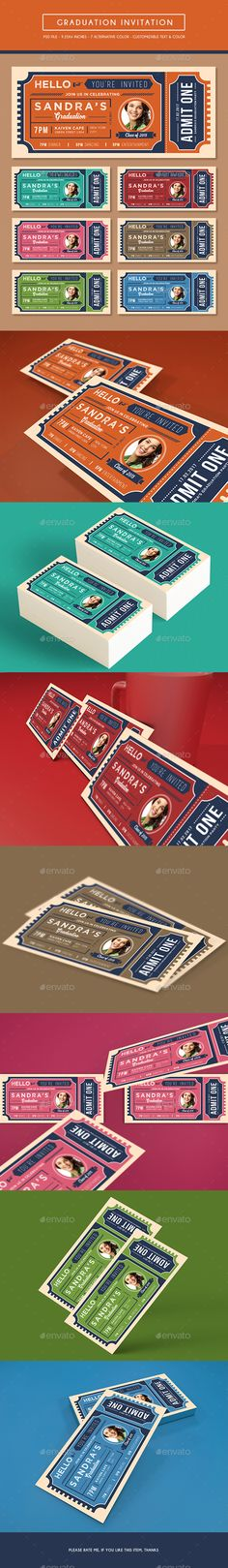 Black \ White event ticket Tickets, Creative and By - design tickets template