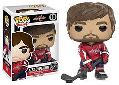 This is a new 2016 Funko POP! NHL Alex Ovechkin of the Washington Capitals. This is a great POP! to add to your collection, a must for any hockey fan. Pop Figures, Vinyl Figures, Action Figures, Sports Figures, Alexander Ovechkin, Nhl Washington Capitals, Alex Ovechkin, Vinyls, Pop Vinyl Figures