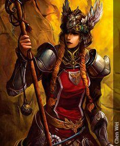 Valquiria - Seres Mitológicos y Fantásticos