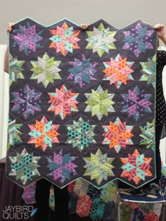 Quilt by Tula Pink, pattern from Jaybird Quilts