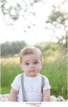 Photography baby photos six month photos Sara Canning photography