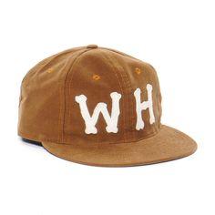 Wings + Horns Moleskin Baseball Cap Camel