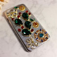 Classy Apple Iphone Cases&Covers With Genuine Leather Bling Bling Czech Crystal/Diamond Silver Color Super Elegant Cell Phone Parts Other Cell Phone Parts From Yamazhouzhe, $30.37| Dhgate.Com