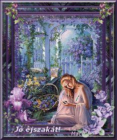 Good Night, Painting, Nighty Night, Painting Art, Paintings, Painted Canvas, Good Night Wishes, Drawings
