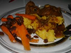 Funchi with Goat meat