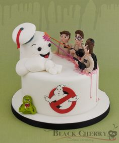 Ghostbusters Cake More