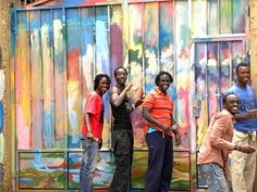 "Painting Rwanda's Future – The Healing Power of Art | Jean Bosco Bakunzi, a 26 year old survivor and orphan of the genocide, founded Uburanga Art Studio, named after the Kinyarwanda word for ""beauty"" with the mission ""to heal people mentally, emotionally, and spiritually."""
