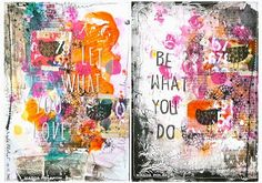 a sprinkle of imagination: Be what you do...