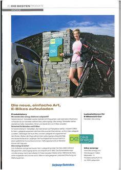 Salzburger Nachrichten | Die besten Produkte unseres Landes 2016 E Biker, Running Away, Filling Station, Tourism, Messages