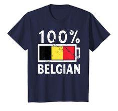Nyc Factory Belgium Flag Tee Bodysuit Football T-Soccer Shirt belgium-flag-tee