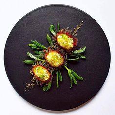 When food looks like art #Fine #Dining