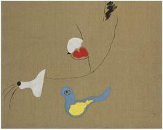 Joan Miró (1893-1983) Peinture–L'Oiseau, 1926