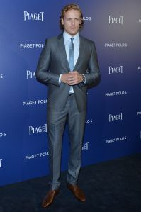 Here are some NEW HQ pics of Sam Heughan at the Piaget Polo S Launch Event More after the jump!