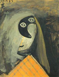 """Pablo Picasso, """"Tête de femme"""", 1943"""