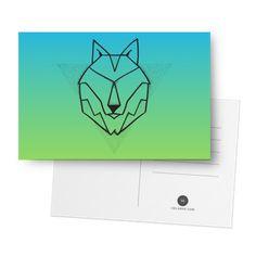 Cartão Lobo de @pedrohevb | Colab55