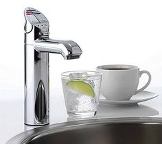 Instant boiling or chilled water. Clever.   YES