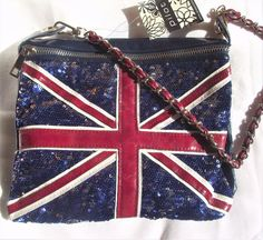 UNION JACK BAG, PILOT, BRITISH FLAG SEQUIN SHOULDER BAG,PURSE,HANDBAG,POCKETBOOK #PILOT #Handbag Ladies Accessories, Fashion Accessories, Pocket Books, Union Jack, Small Businesses, Purses And Handbags, Mother Day Gifts, Gifts For Women, Back To School