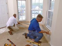 A window seat makes a cozy place to sit and also adds extra storage. Let the DIYNetwork.com remodeling experts show you how to install a window seat in your home.