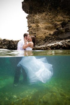 Trash the Dress in St Lucia http://mmaler.com/2012/05/02/sherri-rob-jade-mountain-saint-lucia-drown-the-gown-session/