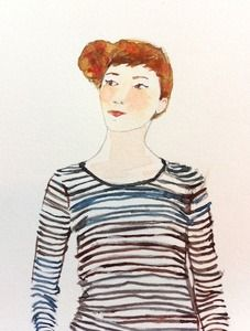 Love this watercolor from the ever so talented Jenny Vorwaller