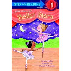 From ballet class to rehearsal for the big show to the final curtesies—budding ballet stars show emergent readers each step and pirouette along the way! This Step 1 story has big type and easy words, rhyme and rhythm, and picture clues. It's a natural for young readers who are learning ballet or aspire to take ballet classes.  (Easy Reader; Step 1 book)