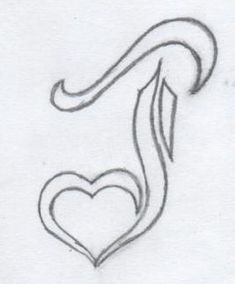 A revised version for a J tatto with a heart. J heart tattoo 2 Bff Tattoos, Name Tattoos, Tatoos, Letter J Tattoo, Heart Tattoos With Names, J Names, Name Drawings, Car Interior Design, Flash Art