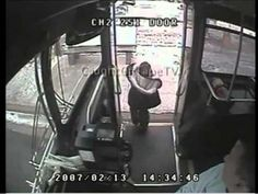 Watch this truly amazing reaction from the bus driver. ABSOLUTE HERO!