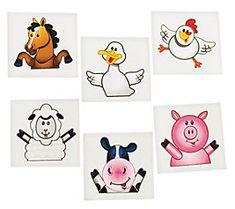 farm party supplies,tractor favors,vintage farm favors,old mac donald - Jilly Bean Kids jillybeankids.com