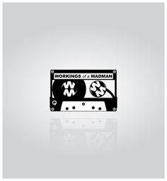 Workings Of A Madman by David Somers, via Behance Mad Men, Illustrator, Cinema, Behance, David, Graphic Design, Logos, Movies, Logo