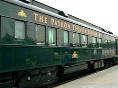 All aboard! Cocktails on a vintage railcar - The Patron Tequila Express