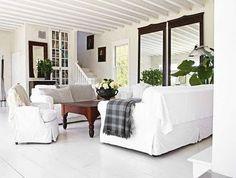 Camilla At Home: Hvitt, hvitt & kontraster