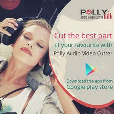 Now cut the best part of your audio video and save it as your ringtone, alarm, music file, notification tone.