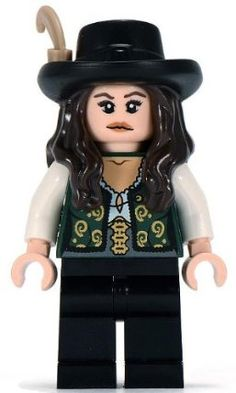 Angelica - LEGO Pirates of the Caribbean Minifigure by LEGO. $19.49
