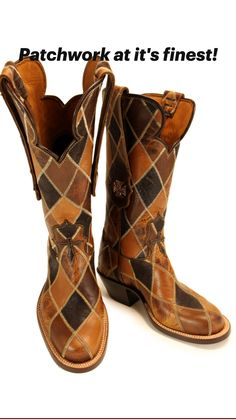 Custom Leather, Leather Case, Leather Boots, Cowboy Boots, Bootie Boots, Fashion Shoes, Footwear, Booty, Evans
